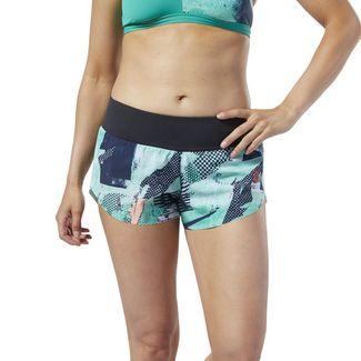 Shorts » Training für Damen in grün im Online Shop von