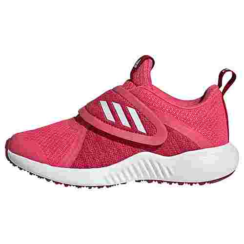 adidas FortaRun X CF Schuh Sneaker Kinder Real Pink / Cloud White / Active Maroon