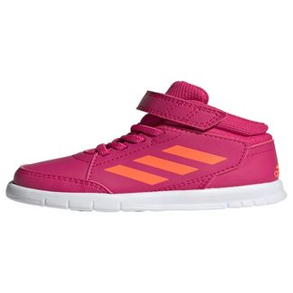 adidas AltaSport Mid Schuh Sneaker Kinder Real Magenta / Cloud White / Cloud White