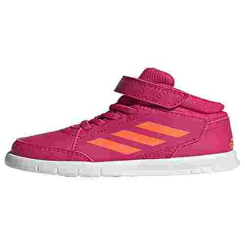 adidas AltaSport Mid Schuh Sneaker Kinder Real Magenta / Cloud White / Cloud White