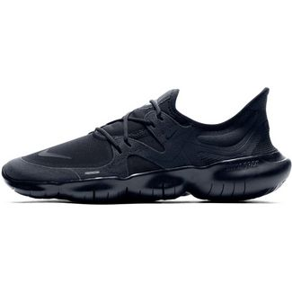 Nike Free Run 5.0 Laufschuhe Herren black-black-black