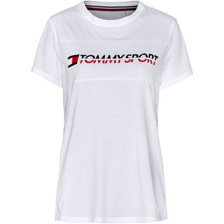 Tommy Sport T-Shirt Damen pvh white
