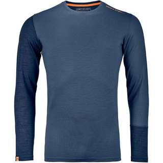 ORTOVOX Merino ROCK´N´WOOL Funktionsshirt Herren night blue blend
