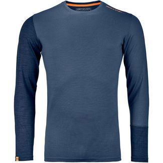 ORTOVOX ROCK´N´Wool Funktionsshirt Herren night blue blend