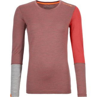 ORTOVOX ROCK´N´Wool Funktionsshirt Damen blush blend