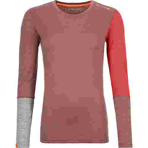 ORTOVOX Merino ROCK´N´WOOL Funktionsshirt Damen blush blend