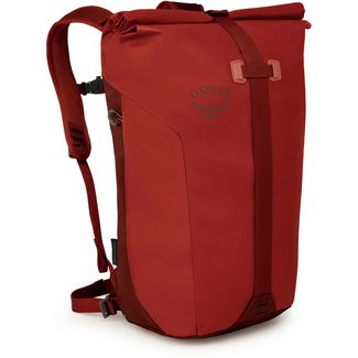 Osprey Rucksack Transporter Roll Daypack ruffian red