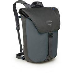 Osprey Rucksack Transporter Flap Daypack pointbreak grey