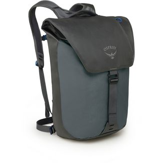 Osprey Rucksack Transporter Flap Daypack pointbreak grey