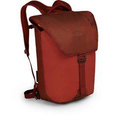 Osprey Rucksack Transporter Flap Daypack ruffian red