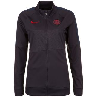 Nike Paris St.-Germain I96 Trainingsjacke Damen anthrazit / rot