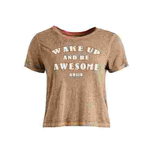 Khujo YESHI_ATTITUDE T-Shirt Damen braun