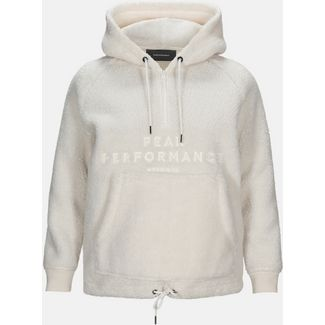 Peak Performance Original Pile Fleecehoodie Damen offwhite