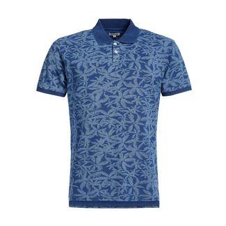 Khujo OCTAVE AOP Poloshirt Herren blau