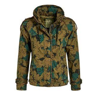 Khujo STACEY Jacke Damen braun grün