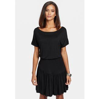 Khujo PENDARA Jerseykleid Damen schwarz