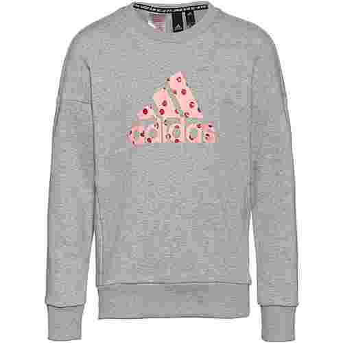 adidas Batch Sweatshirt Kinder medium-grey-heather