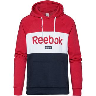 Reebok Linear Hoodie Herren rebel red