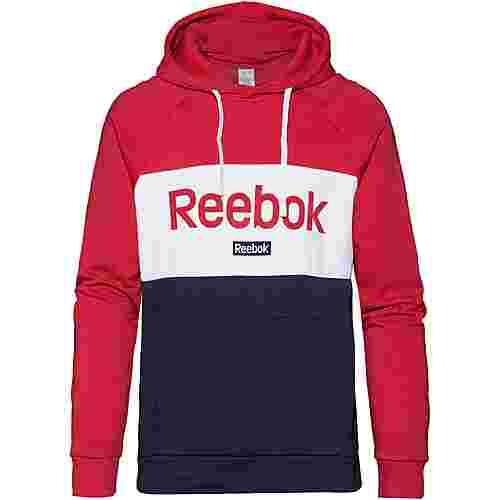 Reebok Linear Hoodie Herren rebel red