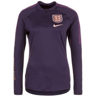 Nike England Dry Squad Drill Trainingsjacke Damen lila