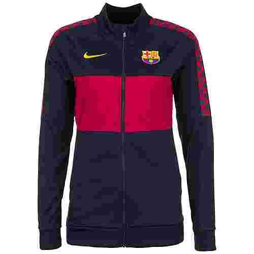 Nike FC Barcelona I96 Trainingsjacke Damen dunkelblau / rot