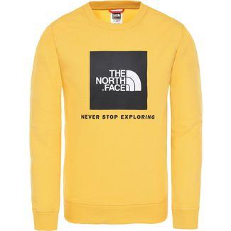 The North Face Box Crew Sweatshirt Kinder tnf-yellow