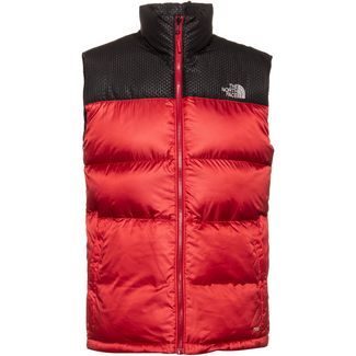 The North Face Nevero Outdoorweste Herren cardinal red-tnf black