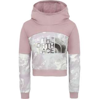 The North Face Cropped Hoodie Kinder ashen-purple-mtn-scape-print