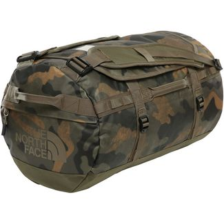 The North Face Base Camp Duffel Reisetasche burnt olive green waxed camo print-burnt olive green