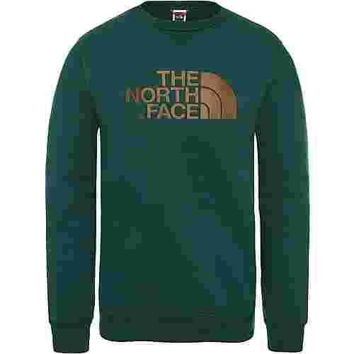 The North Face Drew Peak Crew Sweatshirt Herren night green