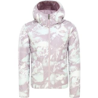 The North Face Perrito Funktionsjacke Kinder ashen-purple-mtn-scape-print