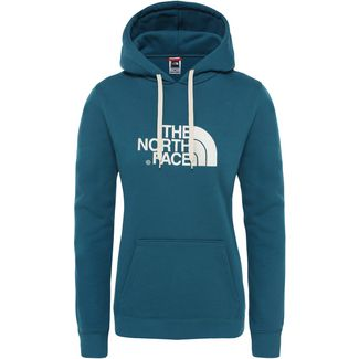 The North Face Drew Peak Hoodie Damen blue coral-vintage white