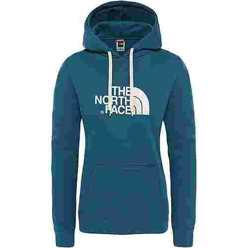 The North Face Drew Peak Hoodie Damen blue coral-vintage white