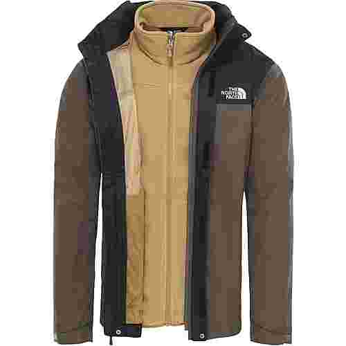 The North Face Evolve II Triclimate® Doppeljacke Herren new taupe green-british khaki