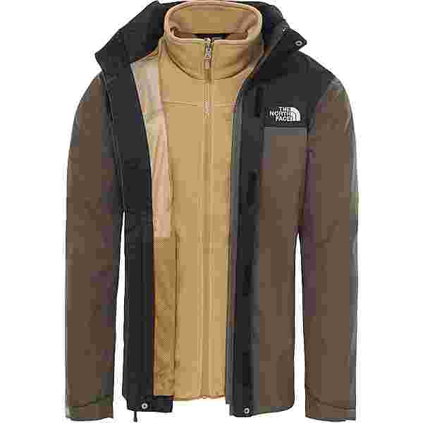 The North Face Evolve II Triclimate Doppeljacke Herren new taupe green-british khaki