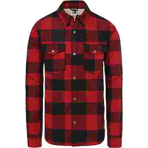 The North Face Campshire Langarmhemd Herren cardinal red -buffalo bill plaid print