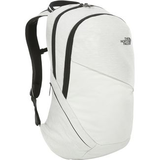The North Face Rucksack Isabella Daypack Damen TNF white metallic melange-TNF black