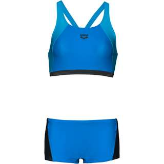 Arena REM TWO PIECES Bikini Set Damen pix blue-shadow grey-turquoise