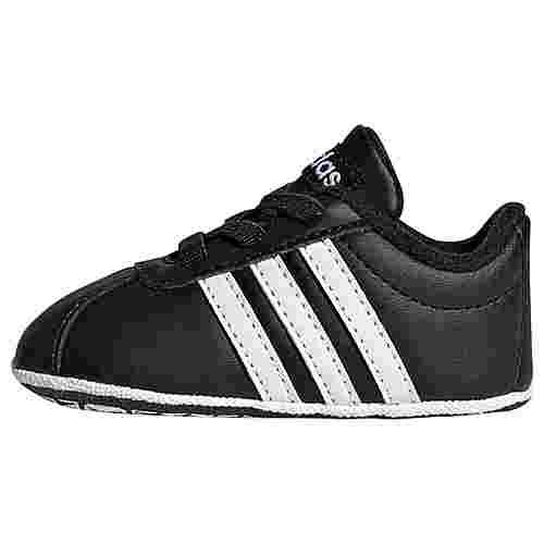 adidas VL Court 2.0 Schuh Sneaker Kinder Core Black / Cloud White / Cloud White