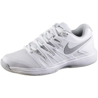 Nike AIR ZOOM PRESTIGE CPT Tennisschuhe Damen white-metallic silver-pure platinum