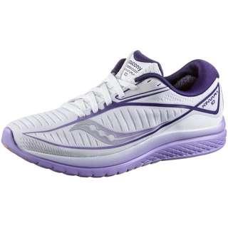 Saucony KINVARA 10 Laufschuhe Damen white-purple