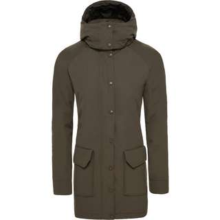 The North Face Insulated Arctic Mountain Parka Damen new taupe green
