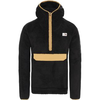The North Face Campshire Fleecehoodie Herren tnf black-british khaki