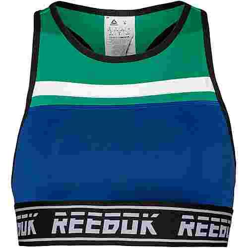 Reebok Sport-BH Damen cobalt