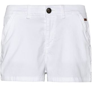 Superdry Shorts Damen optic white