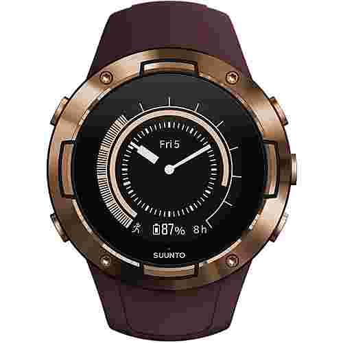 Suunto Suunto 5 Sportuhr burgundy copper