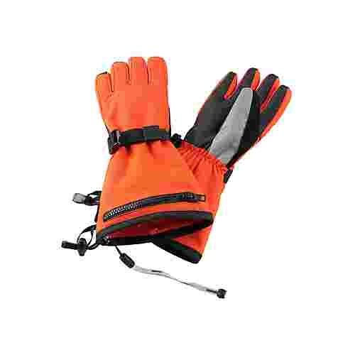 reima Viggu Skihandschuhe Kinder Orange