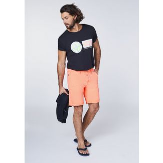 Chiemsee Chinoshorts Shorts Herren Neon Orange