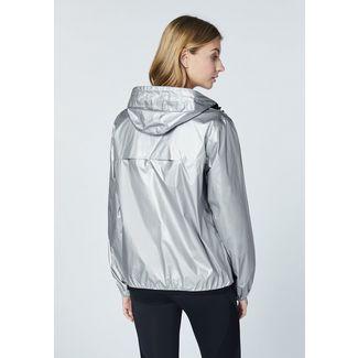 Chiemsee Regenjacke Funktionsjacke Damen Silver Metalic
