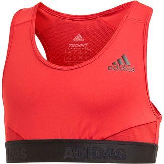 adidas Alphaskin Sport-BH Kinder active-maroon